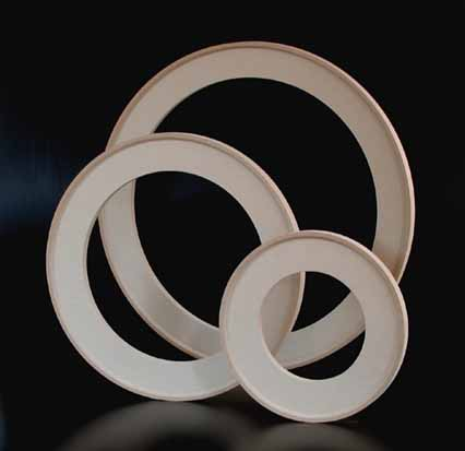 Round Wood Canvas Stretchers Are A One Piece Circular